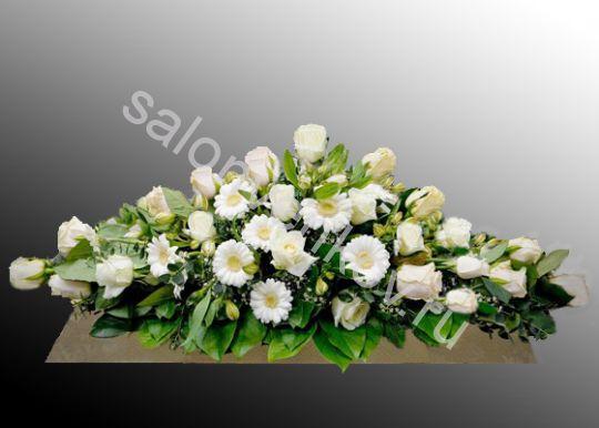 Траурная композиция из живых цветов N55